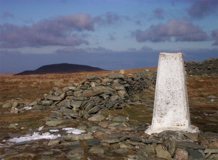 The High Street trig point