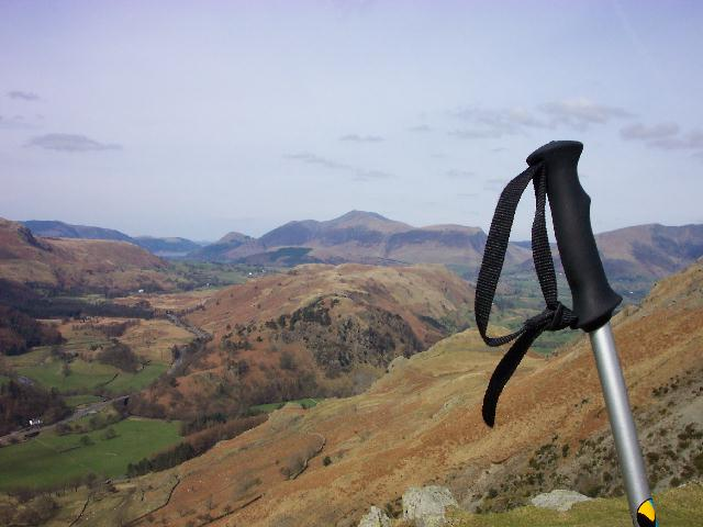 The view over High Rigg Towards Skiddaw