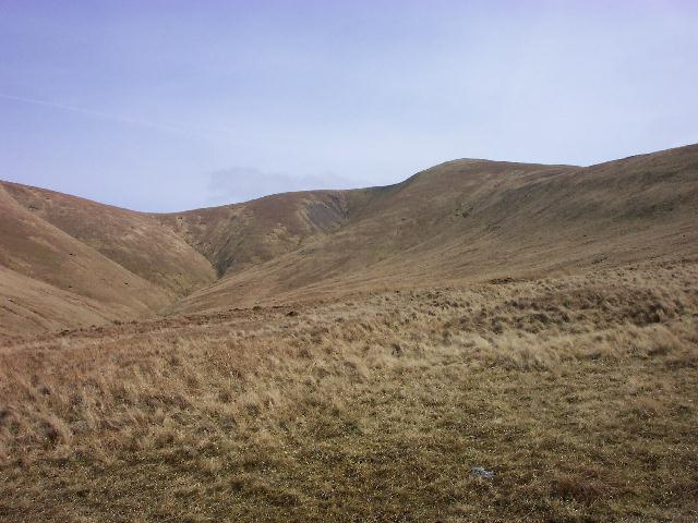 Stybarrow Dodd from the path to Sticks pass