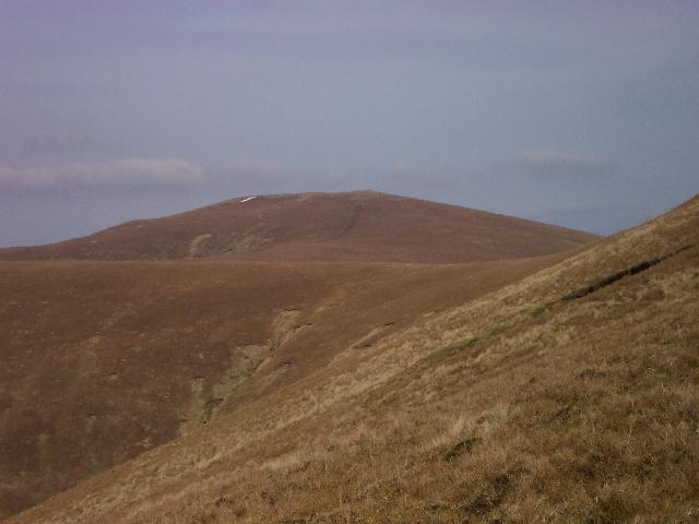 Great Dodd from tyhe path to Sticks Pass from Stanah
