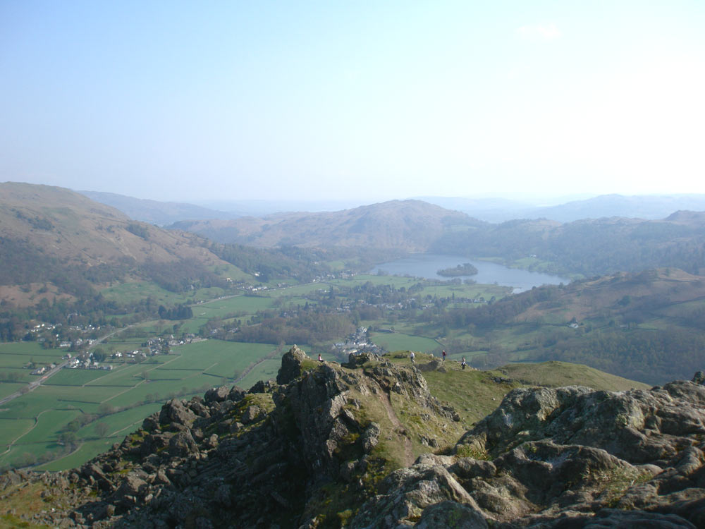 Looking towards Grasmere from Helm Crag