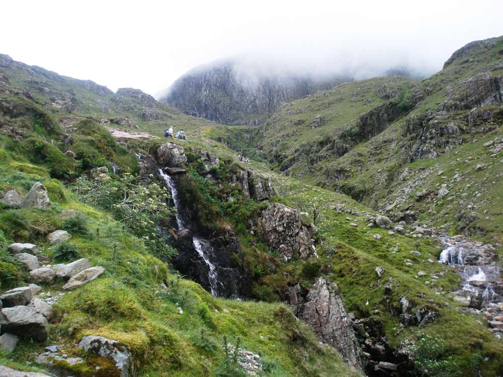 Waterfall along Grains Gill